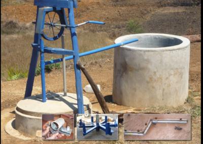 Making a Windlass Rope Pump
